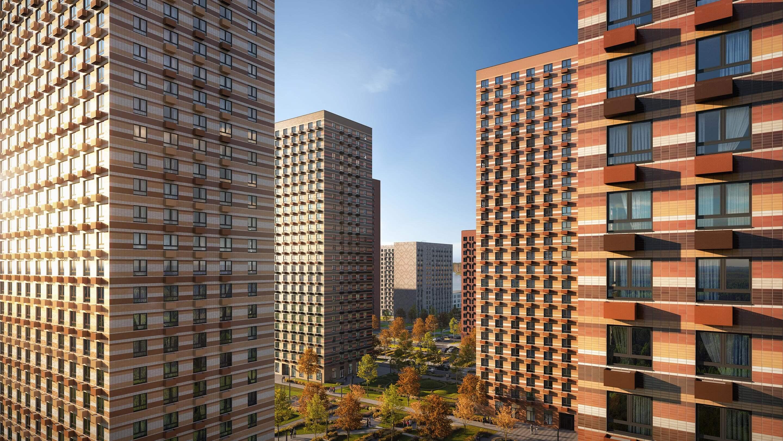 Продажа 3-комнатной новостройки, Москва, жилой комплекс Мякинино Парк,